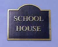 House Name Plaques - Shape 1