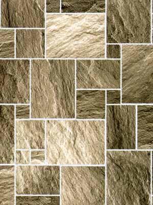 Dark Stone Floor  - Lightly Embossed