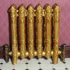Radiator Gold Finish