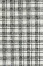 15.French Check Grey Silk