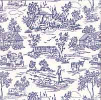 Campagne Toile - Blue
