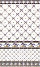 1.Blue Bows Wall Tiles