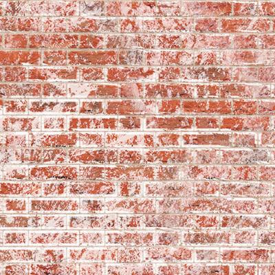 Embossed Weathered White Brick Flemish Bond