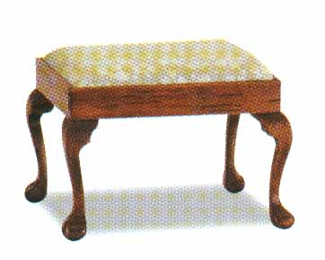 Chippendale Stool