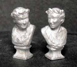DH180 Pair of Galle Busts