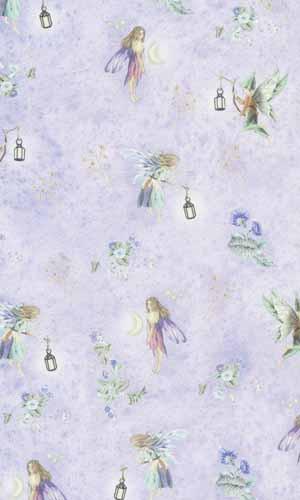 27 Fairies Nursery Wallpaper