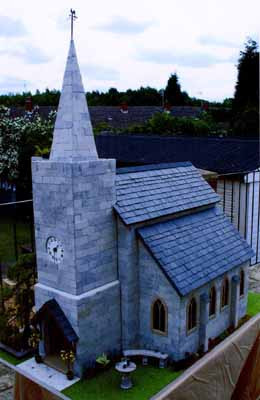 01 English Country Church by ROZ Nell