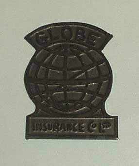 Globe Firemark