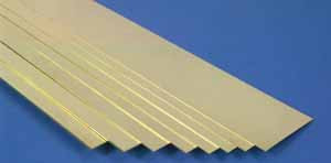 K & S 249 - 1.57 mm x 50.80 mm Brass strip