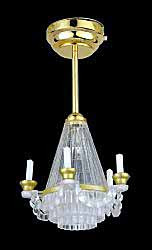 Crystaline Chandelier - Battery operated