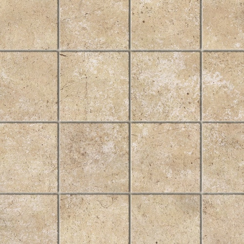 Limestone Square Floor  - Lightly Embossed