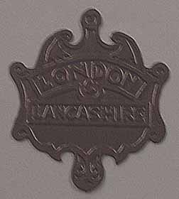 London & Lancashire Firemark