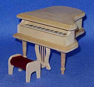 13. Grand Piano & Stool