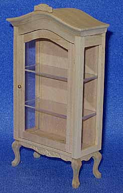 02. Display Cabinet with Cabriolet Legs