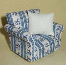 2. Blue Armchair