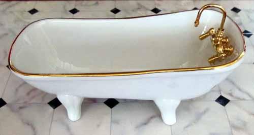 Reutter Classic White Porcelain Bath