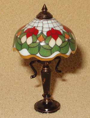 Reutter Tiffany Style Lamp
